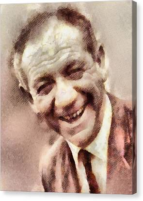 Sid James, Carry On Actor Canvas Print