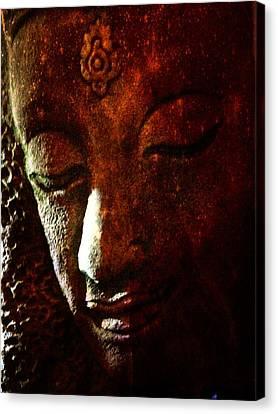 Siddhartha Canvas Print by Nick Young