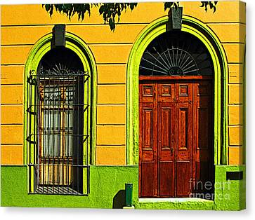 Side Door By Darian Day Canvas Print by Mexicolors Art Photography