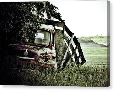 Side Stop Canvas Print by Jerry Cordeiro