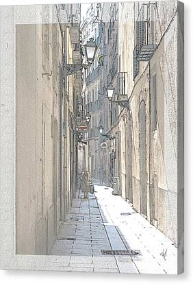 Side Street Canvas Print