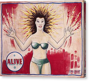 Sideshow Poster, C1965 Canvas Print by Granger