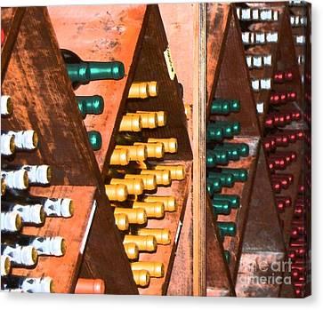 Vino Canvas Print - Sideways by Debbi Granruth