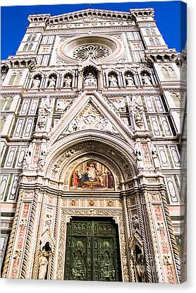 Siena Cathedral Canvas Print by Jim DeLillo