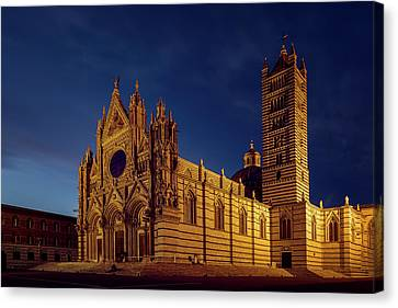 Siena Italy Cathedral Canvas Print