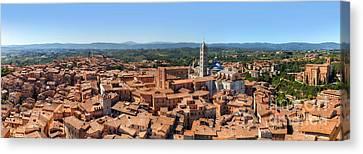Siena, Italy Panorama Canvas Print by Michal Bednarek