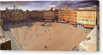 Sienna Piazza Canvas Print by Al Hurley