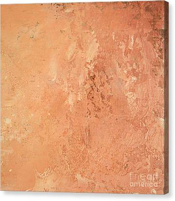 Sienna Rose Canvas Print by Michael Rock