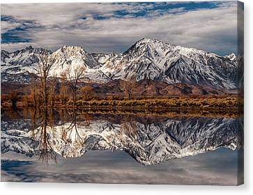 Sierra Reflections 2 Canvas Print by Cat Connor