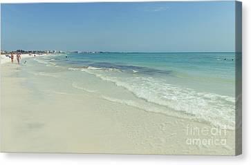 Siesta Key Canvas Print - Siesta Key Beach Florida by Edward Fielding