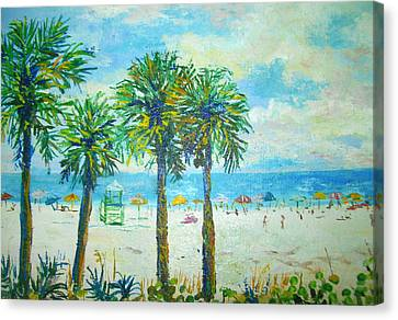 Siesta Key Beach Canvas Print