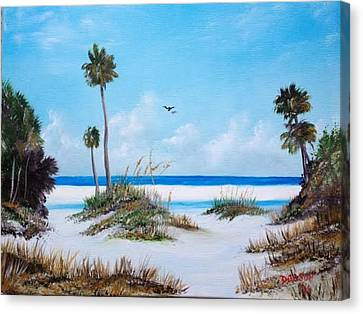 Siesta Key Fun Canvas Print