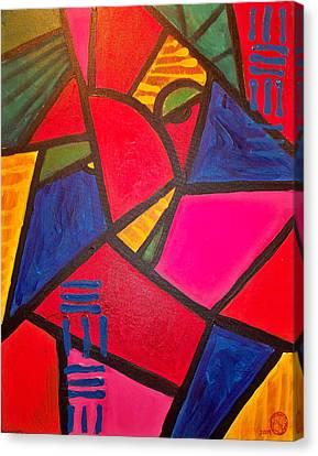 Sifuri Canvas Print by Malik Seneferu