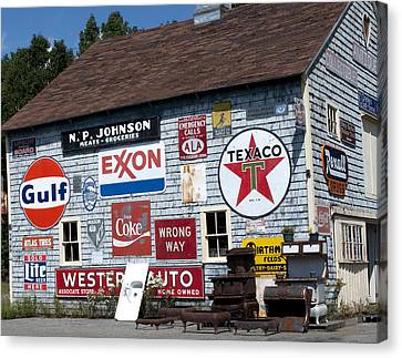 Sighs Of Old Times Canvas Print by Charles  Ridgway
