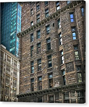 Canvas Print featuring the photograph Sights In New York City - Old And New by Walt Foegelle