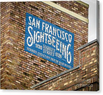 Sightseeing Canvas Print by Perry Webster