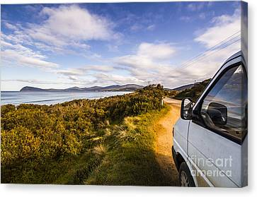 Sightseeing Southern Tasmania Canvas Print by Jorgo Photography - Wall Art Gallery