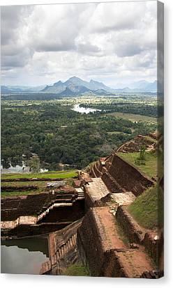 Sigiriya Ruins Canvas Print by Jane Rix