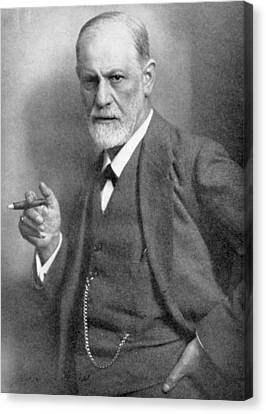 Waistcoat Canvas Print - Sigmund Freud by English School