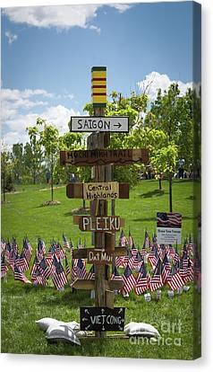 Sign Post Canvas Print by Jon Burch Photography