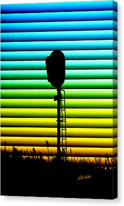 Signal At Dusk Canvas Print
