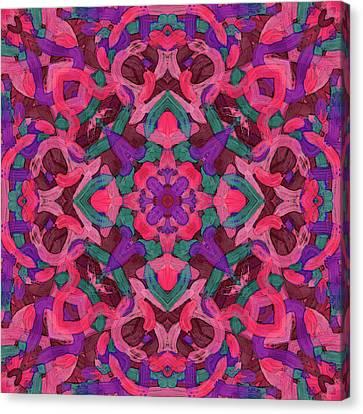 Signal Soup -pattern- Canvas Print