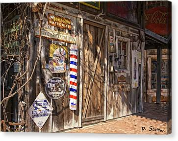 Signs Of The Past Canvas Print by Patricia Stalter