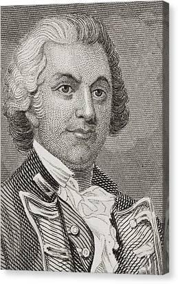 Silas Talbot 1751 - 1813. American Canvas Print