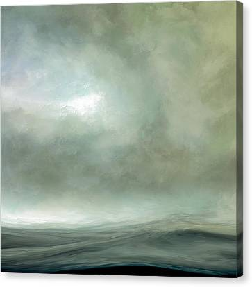Silence Of The Deep Canvas Print by Lonnie Christopher