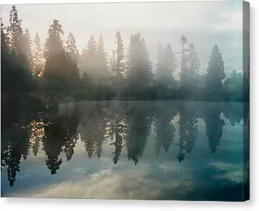 Canvas Print featuring the photograph Silence by Sergey and Svetlana Nassyrov