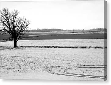 Silence The Only Sound Canvas Print by Off The Beaten Path Photography - Andrew Alexander