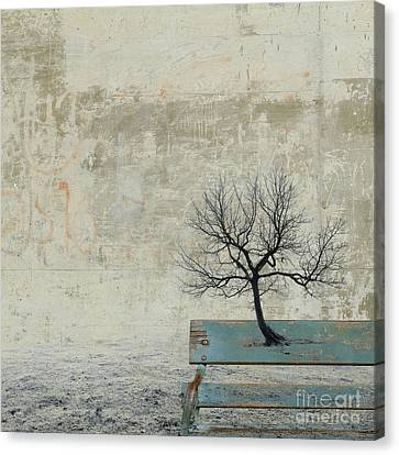 Surrealistic Canvas Print - Silence To Chaos - 30a by Variance Collections