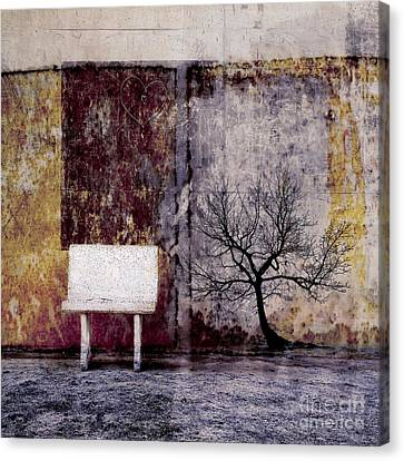 Surrealistic Canvas Print - Silence To Chaos - 33b1 by Variance Collections
