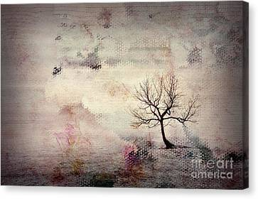 Alone Canvas Print - Silence To Chaos - 5502c2v by Variance Collections