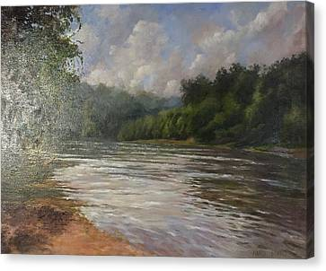 Silent Afternoon Canvas Print
