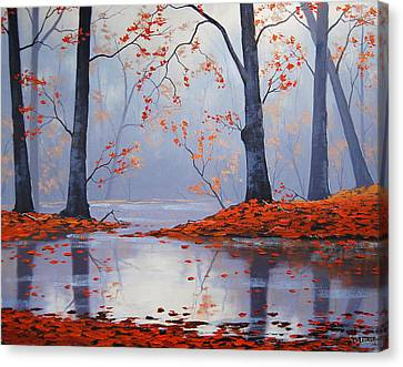 Silent Autumn Canvas Print by Graham Gercken