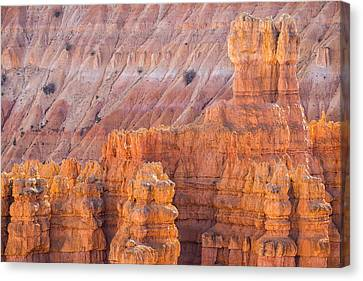 Canvas Print featuring the photograph Silent City Glow by Patricia Davidson