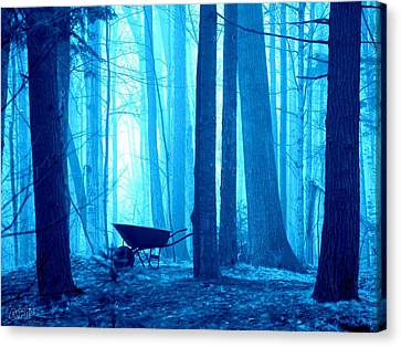 Canvas Print featuring the photograph Silent Forest by Al Fritz