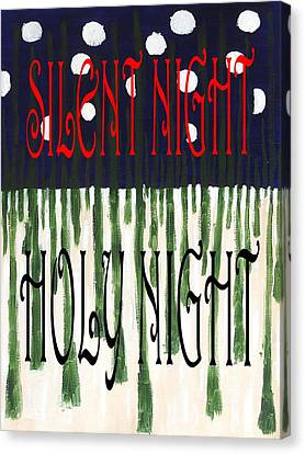 Silent Night Holy Night Canvas Print by Patrick J Murphy