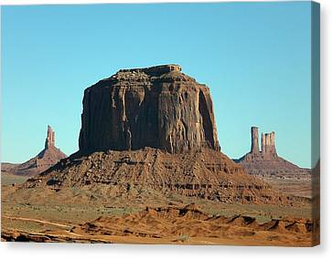 Silent Sentinel Canvas Print by Fred Wilson
