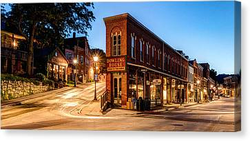 Silent Streets Of Galena Canvas Print by Matt Hammerstein