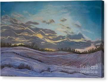 Silent Symphony Canvas Print by Lucinda  Hansen