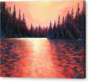 Sun Rays Canvas Print - Silent Treasures by Lucy West