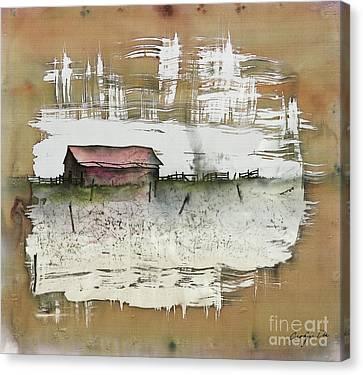 Silk Prairie Canvas Print by Carolyn Doe