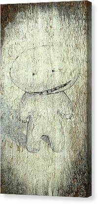 Silly Billy Canvas Print by Konrad Geel