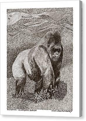 Gorilla Of My Dreams Canvas Print