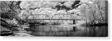 Canvas Print - Silver Bridge Pano by James Barber