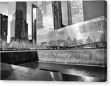 Reflections Of Absence Canvas Print