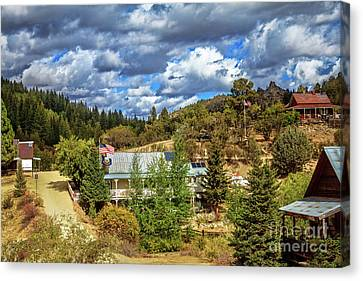 Miners Ghost Canvas Print - Silver City by Robert Bales