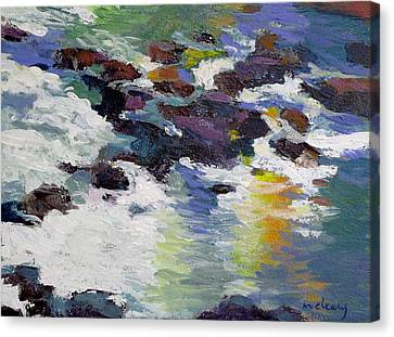 Silver Creek No. 6 Canvas Print by Melody Cleary